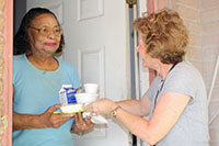 Meals on Wheels article in Port Lavaca Wave newspaper